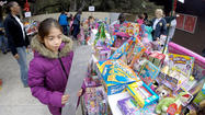 Photo Gallery: Crescenta Valley Sheriff Station's Toy and food distribution