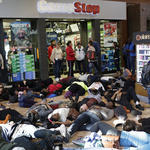 Protesters shut down part of Mall of America in Minnesota