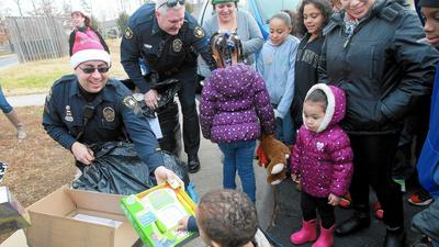 Thousands of Christmas toys delivered to James City children