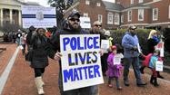 Pro-law enforcement rally held in Annapolis
