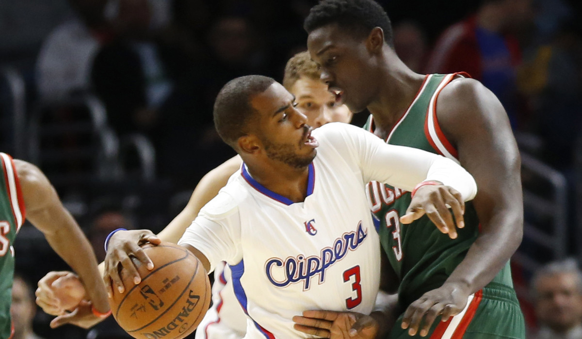 Clippers win seventh straight home game, defeating Milwaukee, 106-102