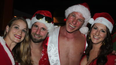 Santacon and Ugly Sweater Pub Crawl in Fort Lauderdale