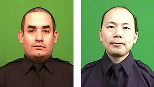 Two police officers 'simply assassinated' in Brooklyn