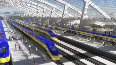 High-speed rail project