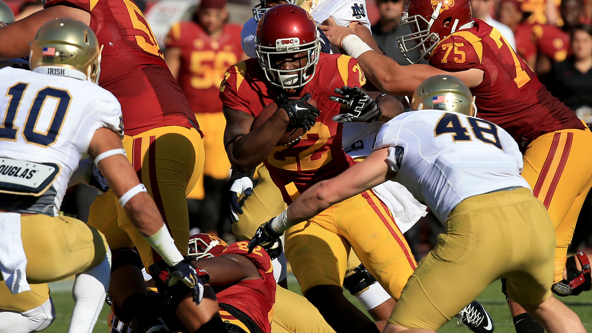 USC could be running low on running backs next season