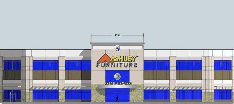 ashley furniture facility in romeoville to include outlet store chicago tribune. Black Bedroom Furniture Sets. Home Design Ideas