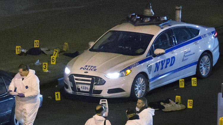 Blame game in N.Y. cop killings shows demonization double standard