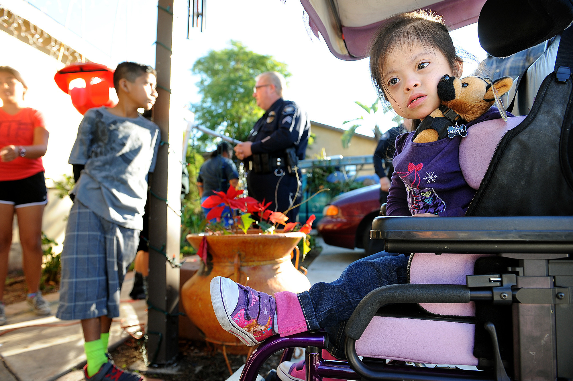 Thief steals child's wheelchair; shocked community gets her a new one