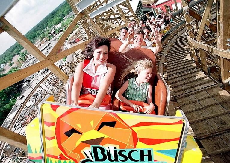 Busch Gardens To Close Gwazi Roller Coaster Orlando Sentinel