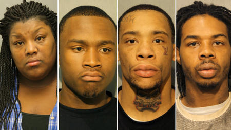 Five charged in Clearing murder