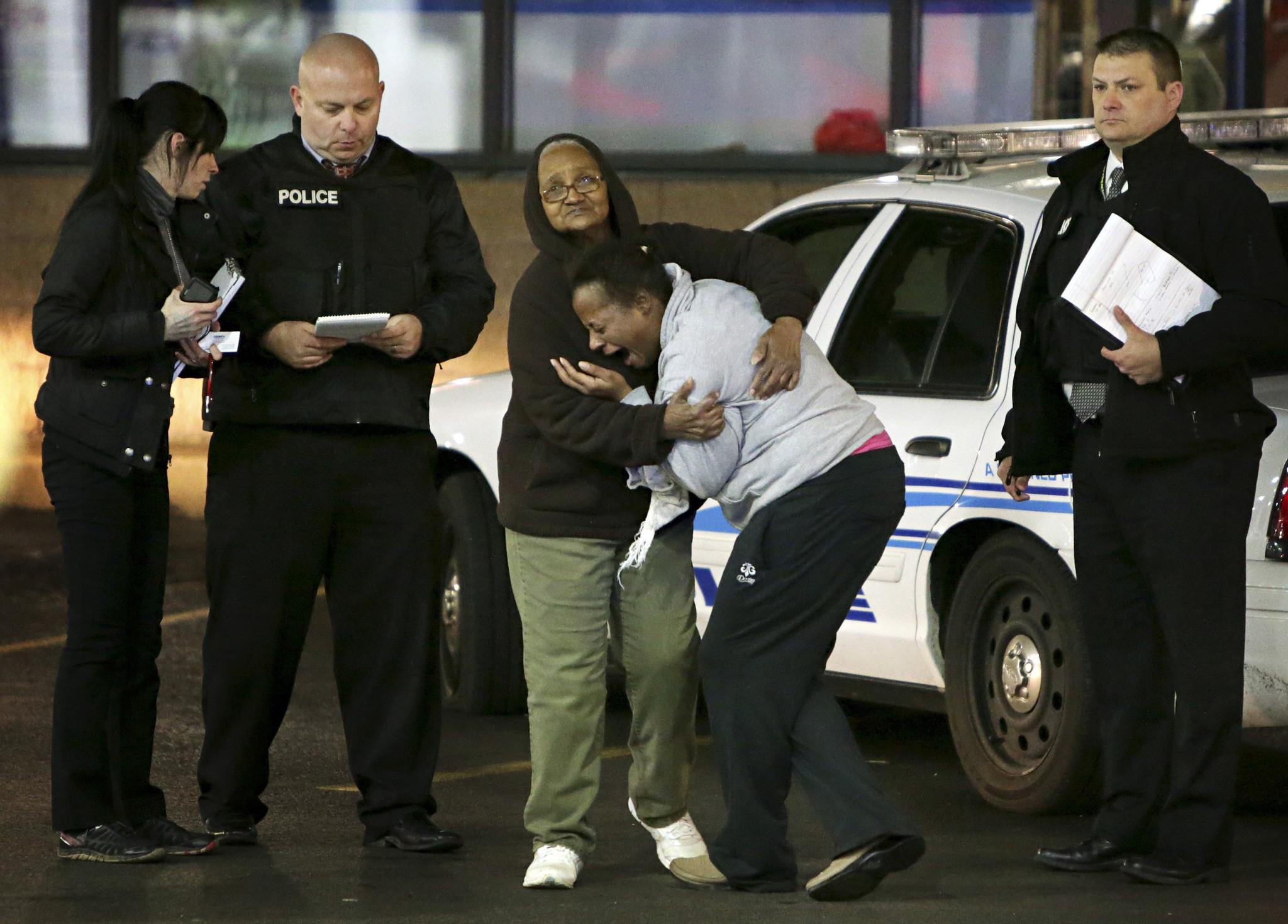 Protests, vigils follow shooting near Ferguson