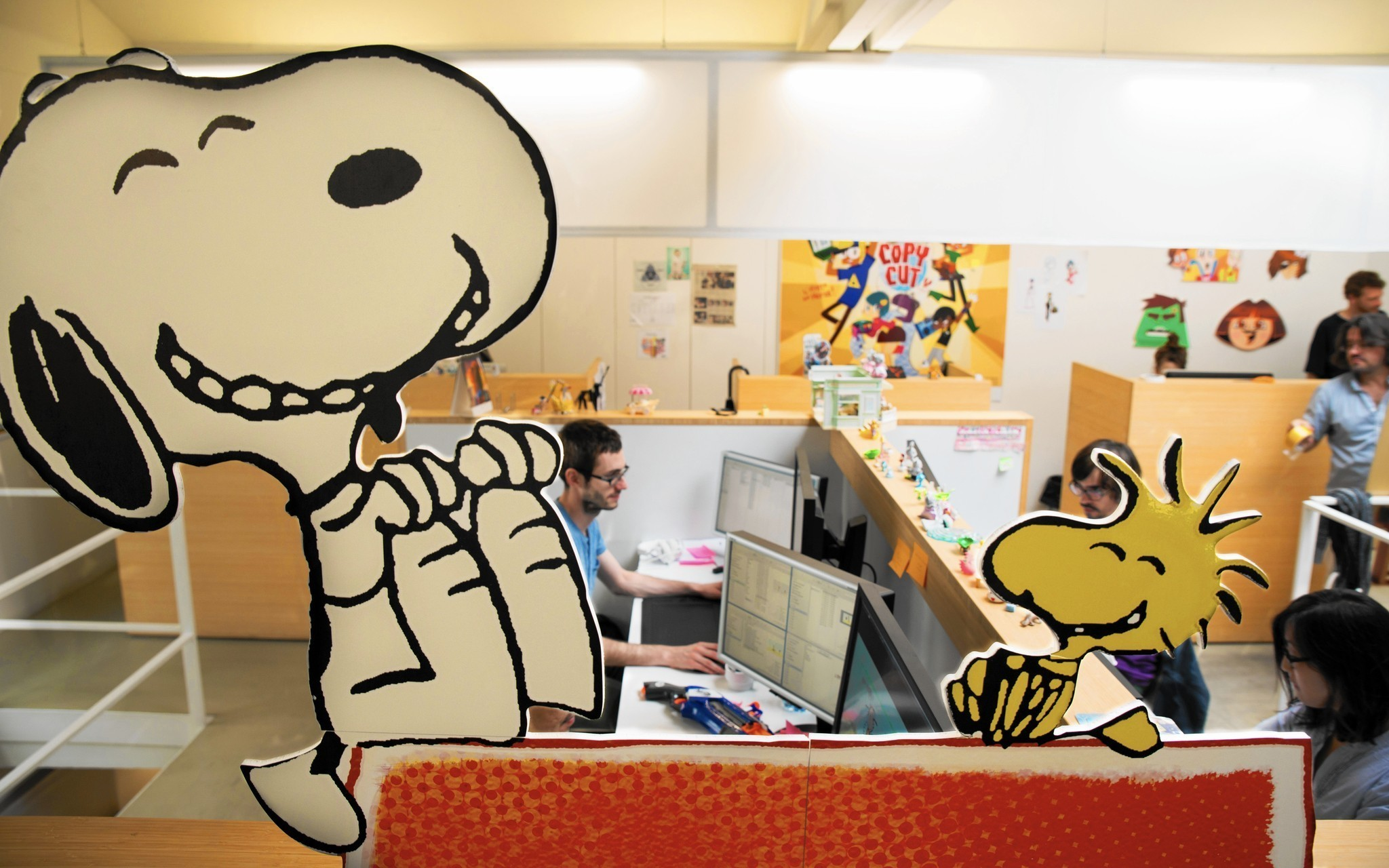 Peanuts Comic Will Come To Life In French Tv Series La Times