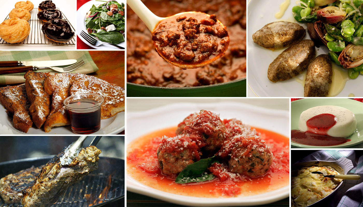 Test Kitchen Los Angeles Menu
