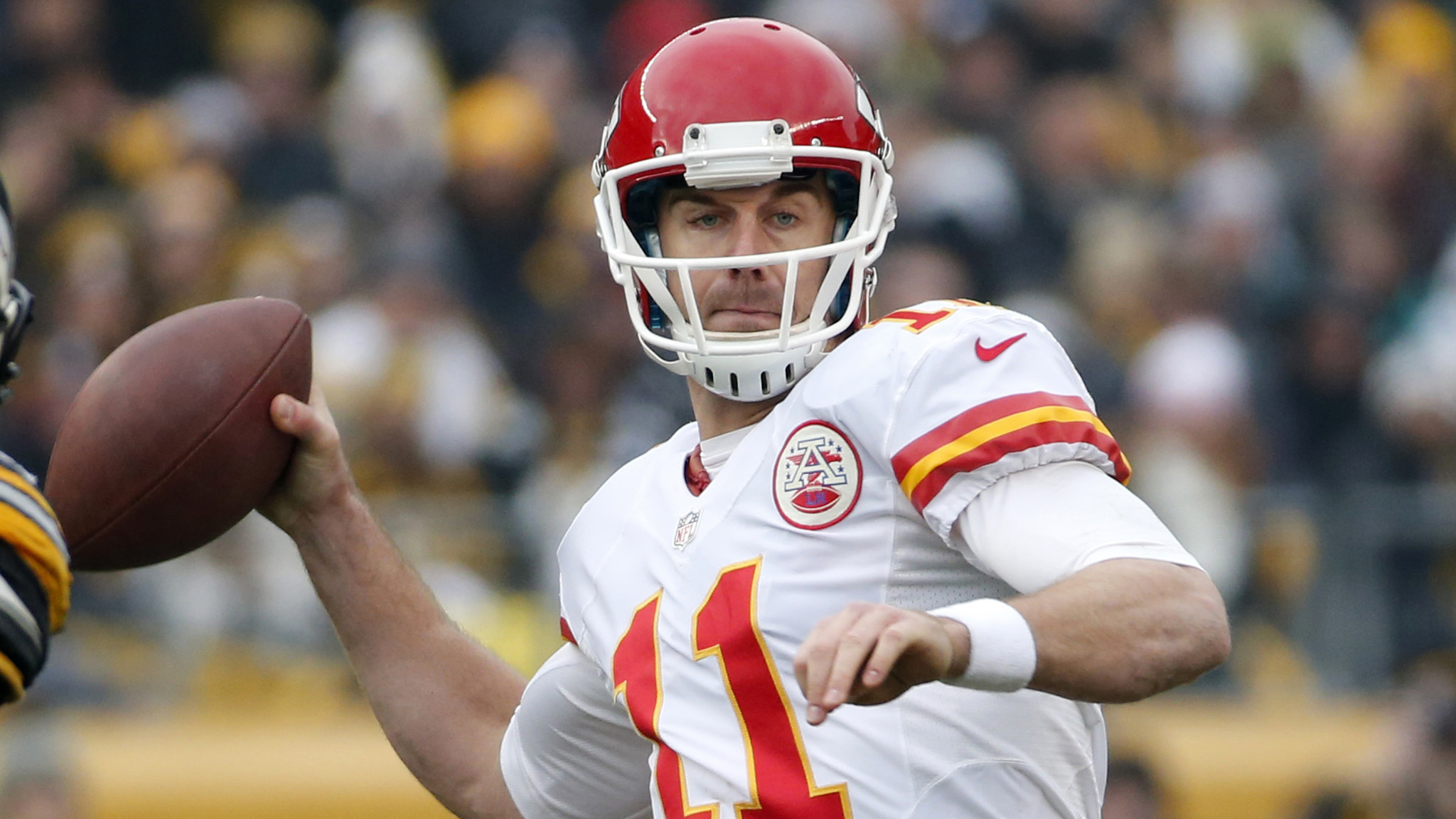 Alex Smith Out For Kansas City Chiefs With Lacerated