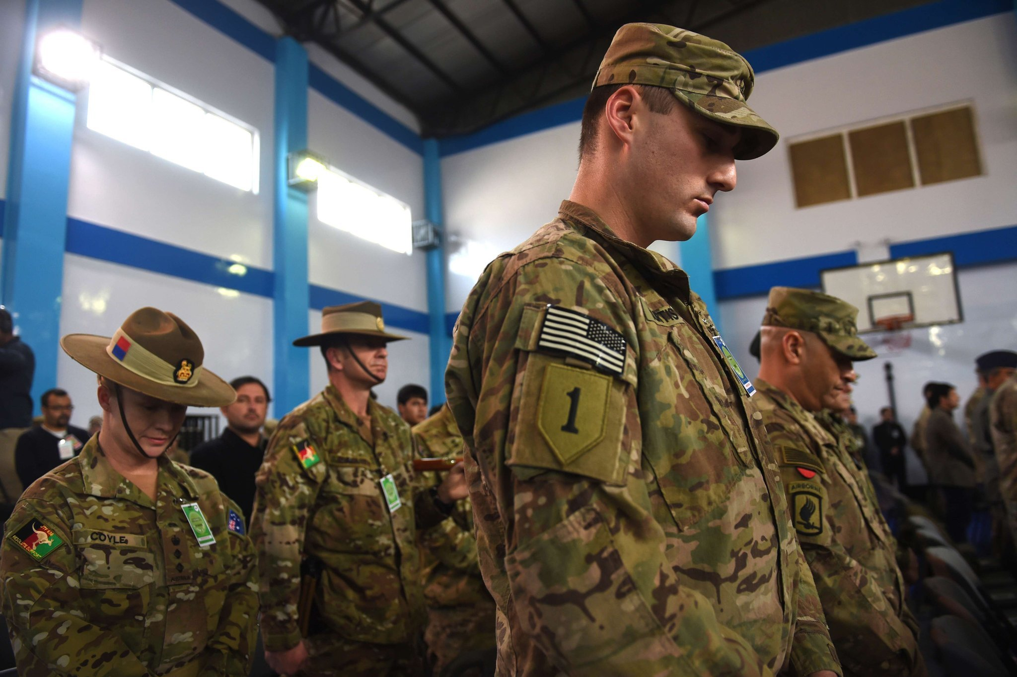 U.S.-led mission in Afghanistan ends combat role