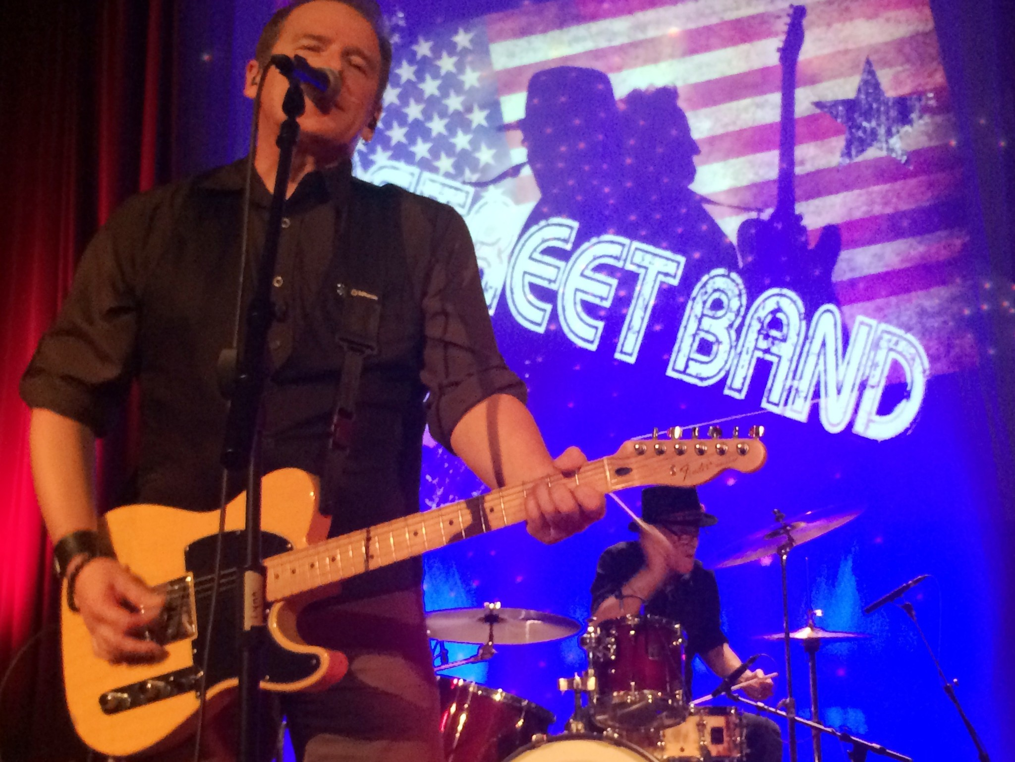Review B Street Band Is No Springsteen But With E Street Drummer