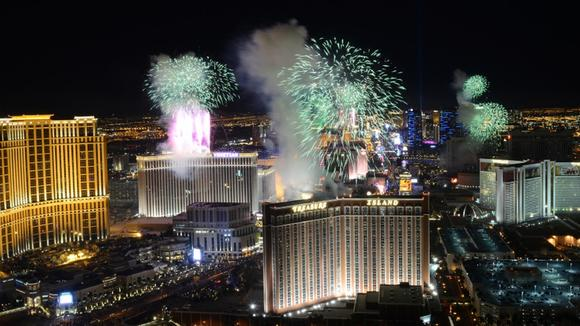 new years in vegas weather