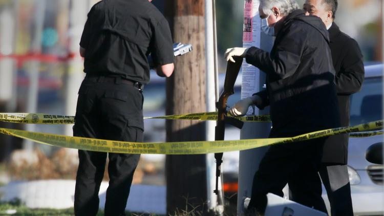 LAPD ambush