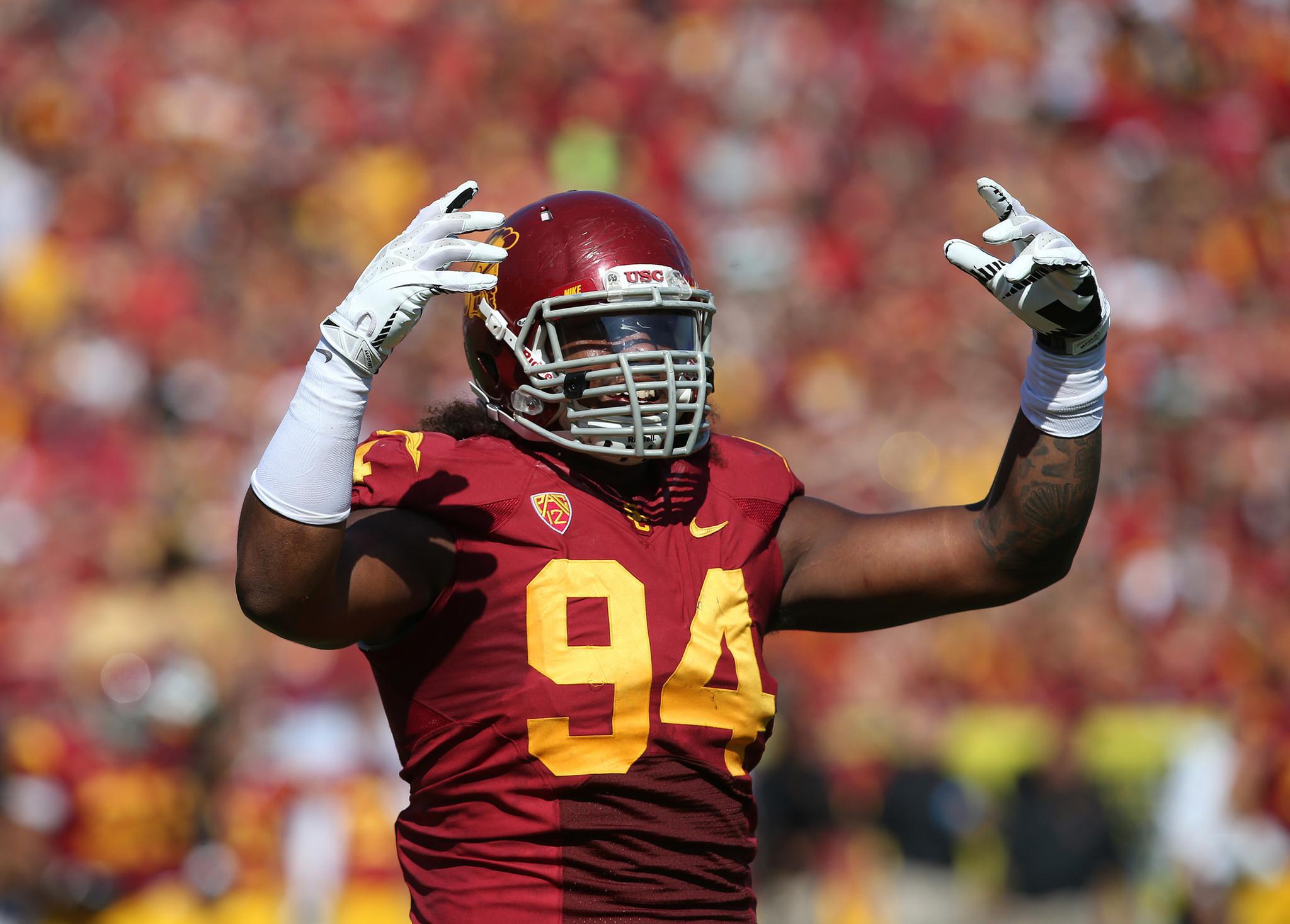Leonard Williams leaving USC for 2015 NFL draft LA Times