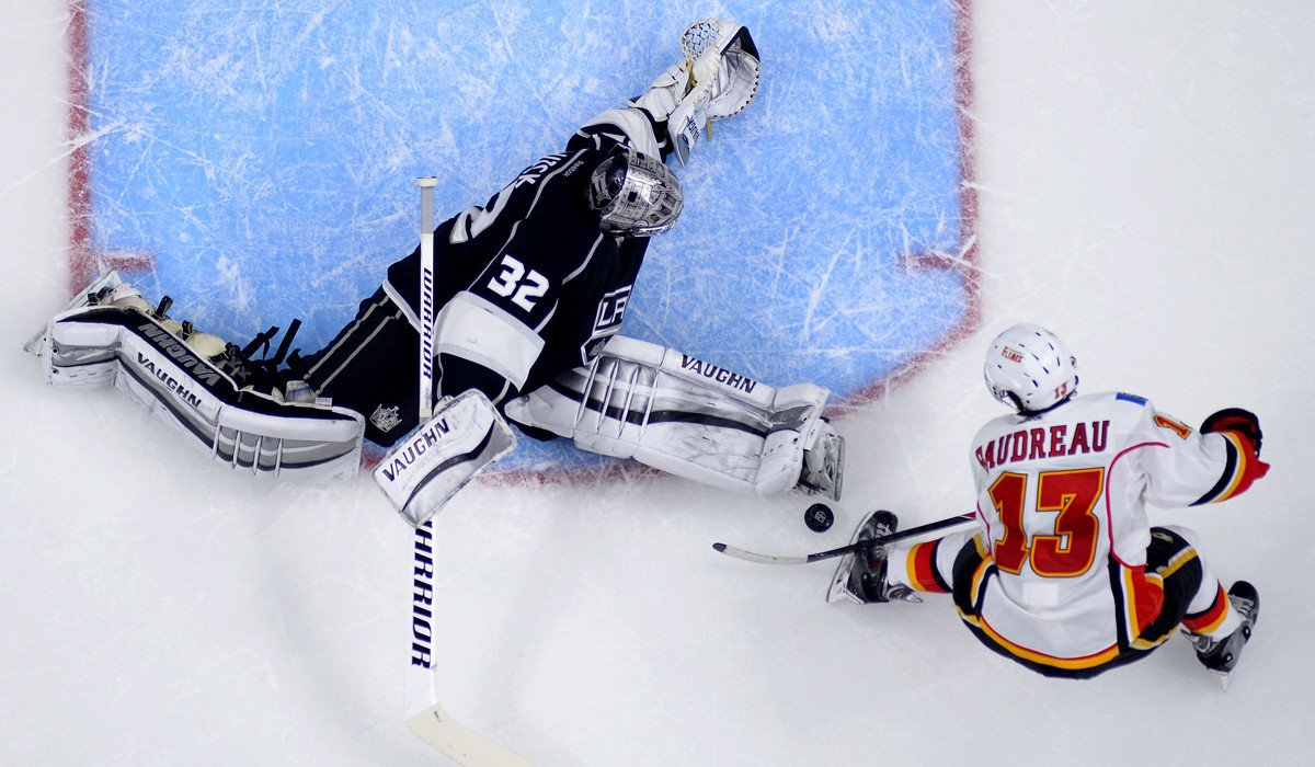 Kings Face Rematch With Johnny Gaudreau And The Calgary Flames