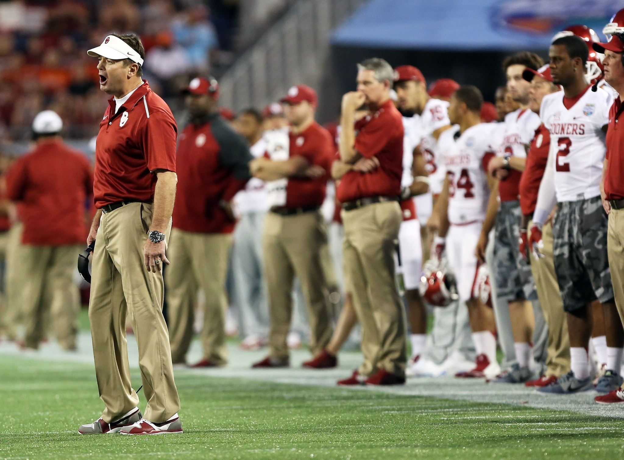 Bob Stoops will feel heat of Orlando embarrassment after ...