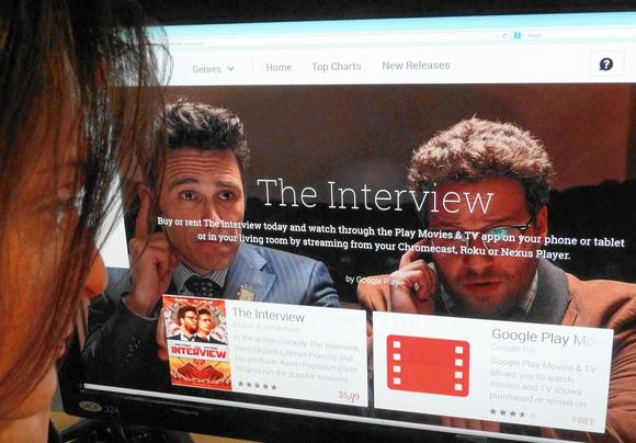 Vod success of interview could make online film releases more common