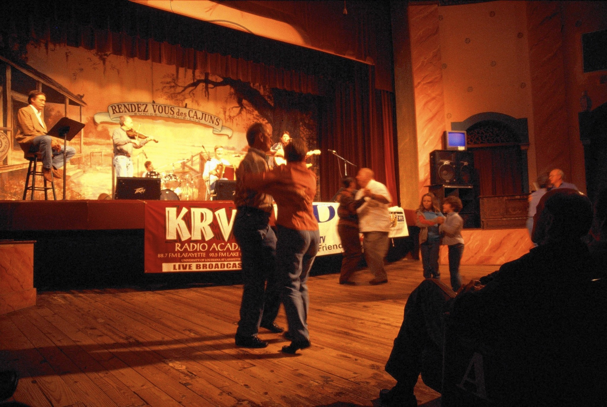 The Cajun Experience means music, food