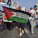 """Hundreds gathered at Penn Station in July for two separate rallies, <a href=""""http://www.citypaper.com/photos/bcp-gaza-protest-20140731,0,2550045.photogallery"""" style=""""a:link{color:#FF0000!important;}"""" target=""""_blank"""">""""Solidarity March with Gaza"""" and """"Stand With Israel."""" </a>"""