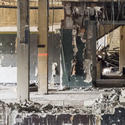 """Workers began the demolition of the <a href=""""http://www.citypaper.com/photos/bcp-the-demolition-of-the-morris-mechanic-theater-in-photos-20141001,0,7768355.photogallery"""" style=""""a:link{color:#FF0000!important;}"""" target=""""_blank"""">Morris A. Mechanic Theatre.</a>"""