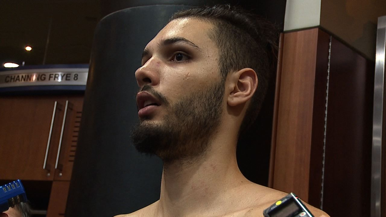 Pistons-Magic postgame interview: Evan Fournier - LA Times