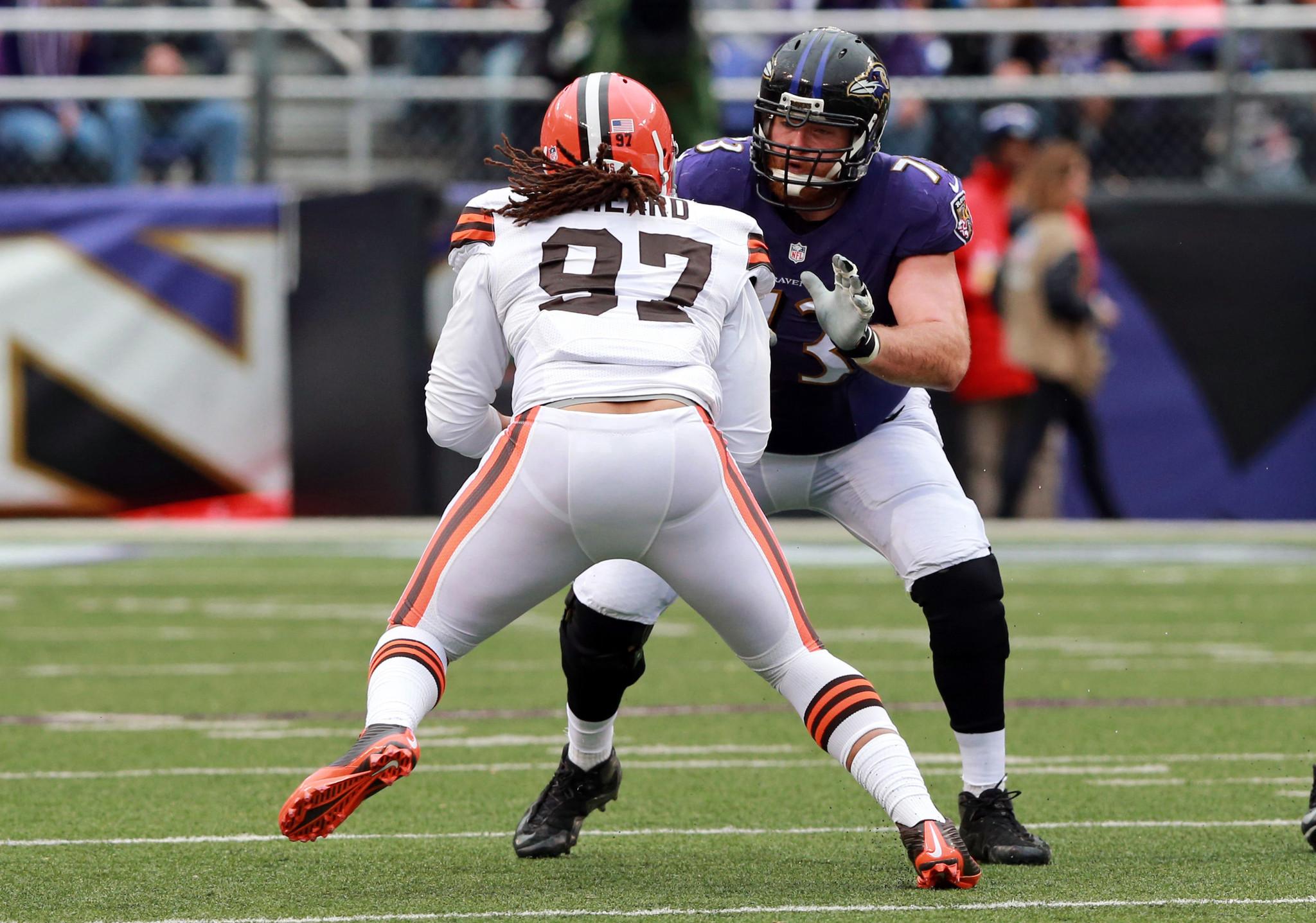 Ravens Pro Bowl guard Marshal Yanda ting back into swing of