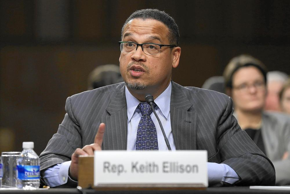 Rep. Keith Ellison is shown in 2015. (Win McNamee / Getty Images)