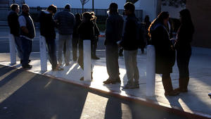 Immigrants flock to DMV offices to seek driver's licenses