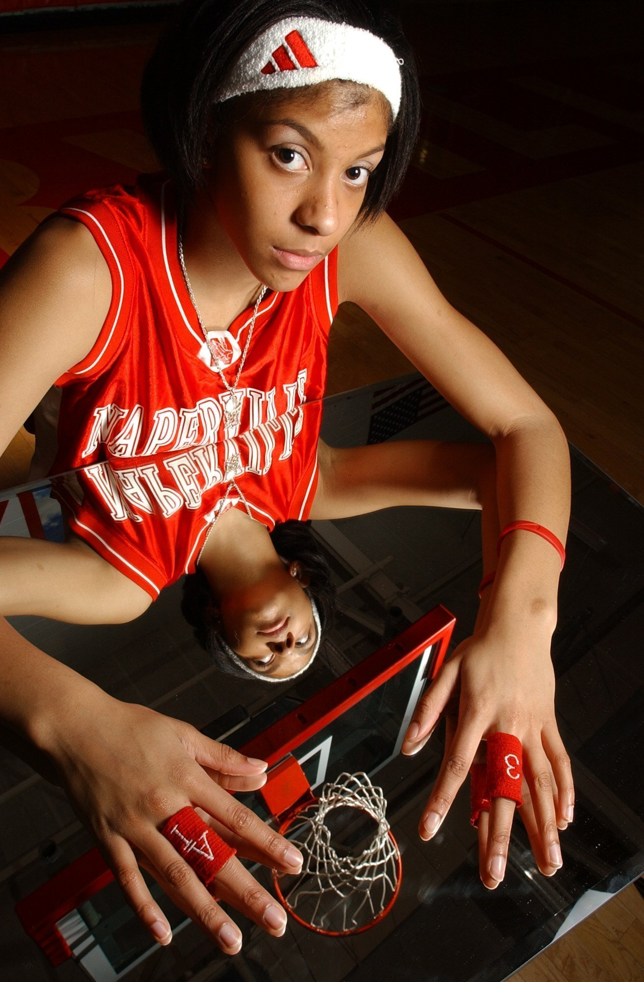 Ms. Basketball of Illinois 2003 | Naperville Central's ... Candace Parker