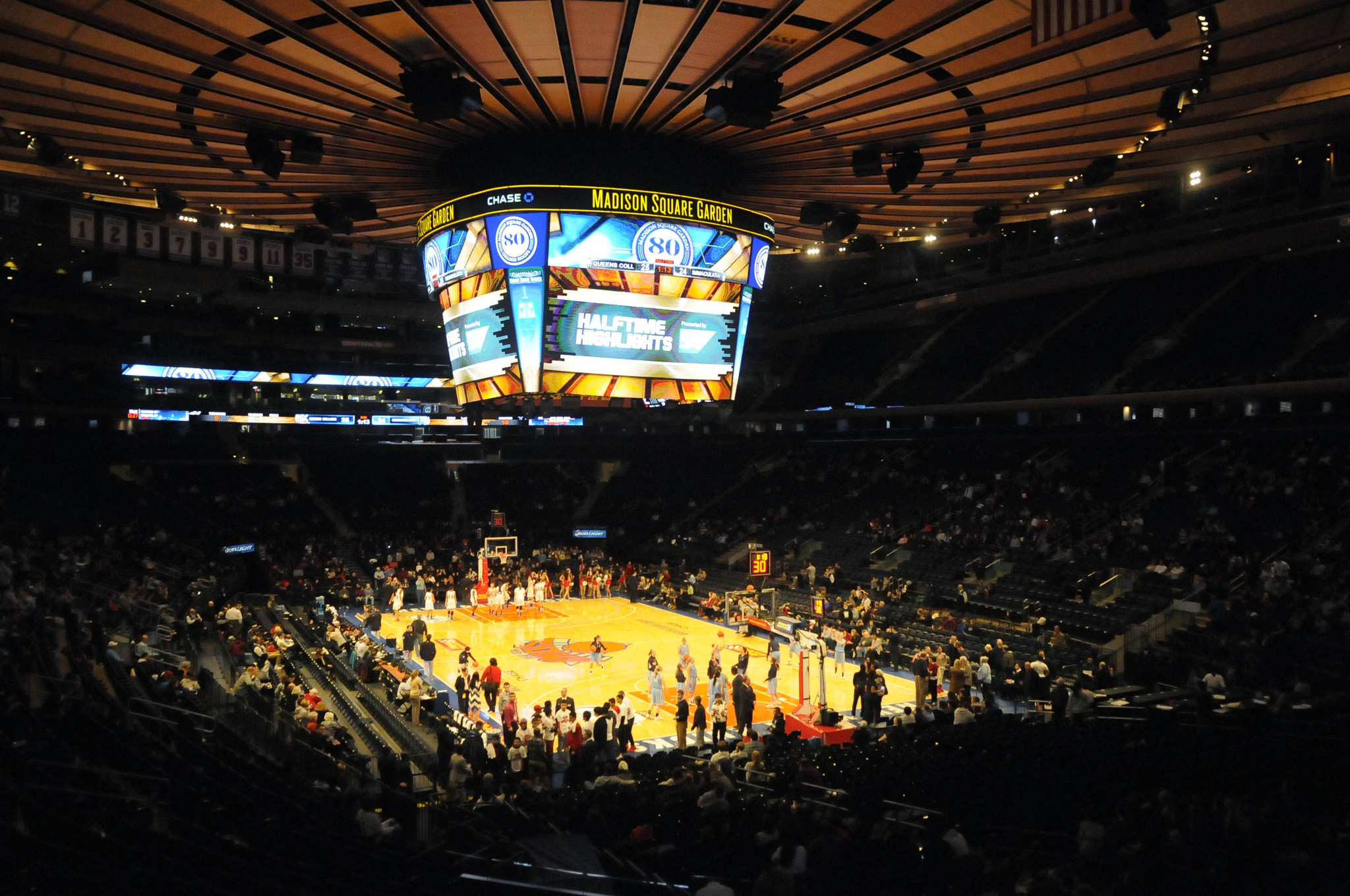 Madison square garden is one of geno auriemma 39 s favorite place to play a basketball game Madison square garden basketball