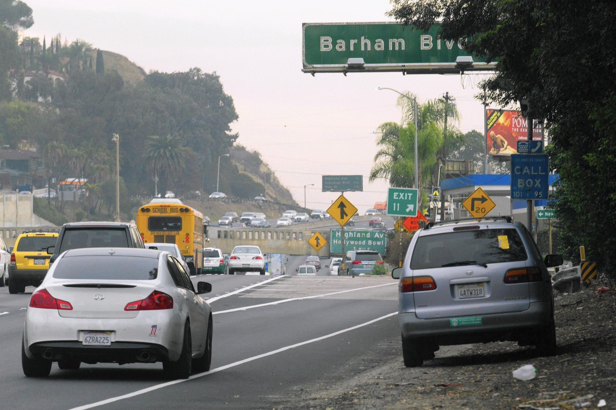 Barham Boulevard offramp