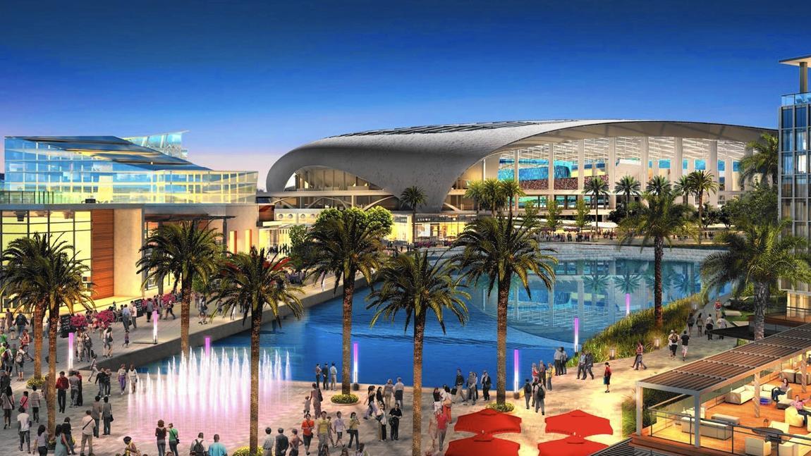 Inglewood stadium project