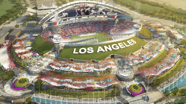 Owner of st louis rams plans to build nfl stadium in for Inglewood jewelry and loan inglewood ca