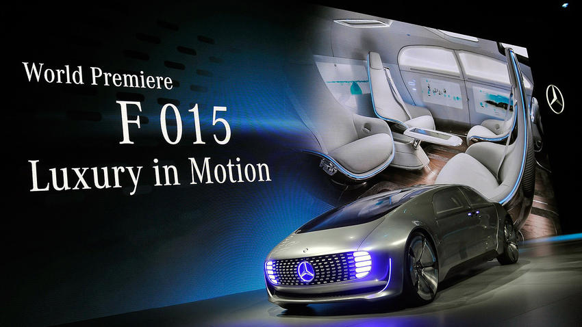 2015 CES | Mercedes-Benz F 015 Luxury in Motion