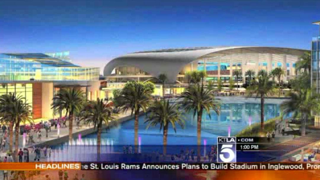 St Louis Rams Owner Announces Plans To Build Stadium In