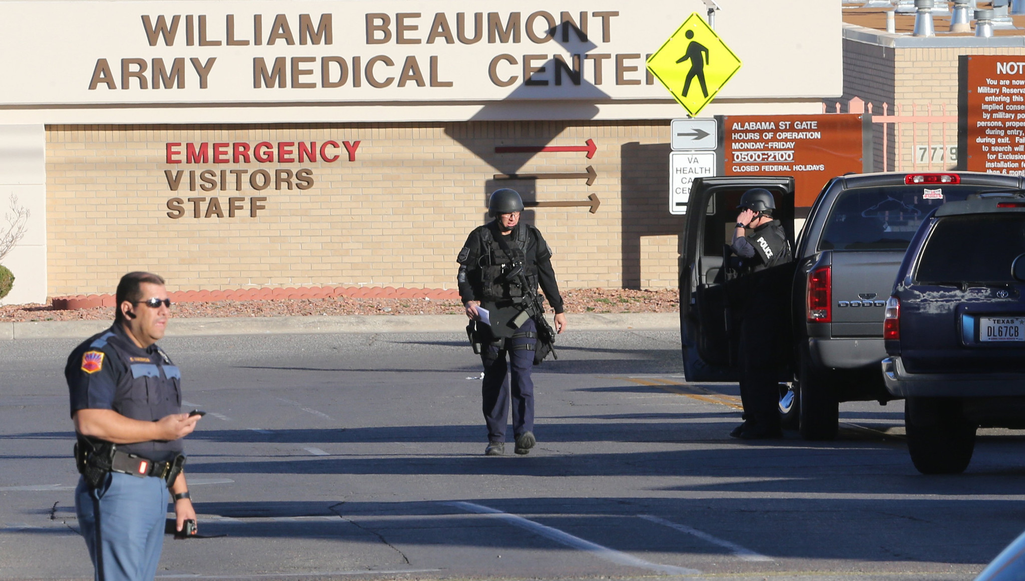 investigators  shooter at va hospital was ex