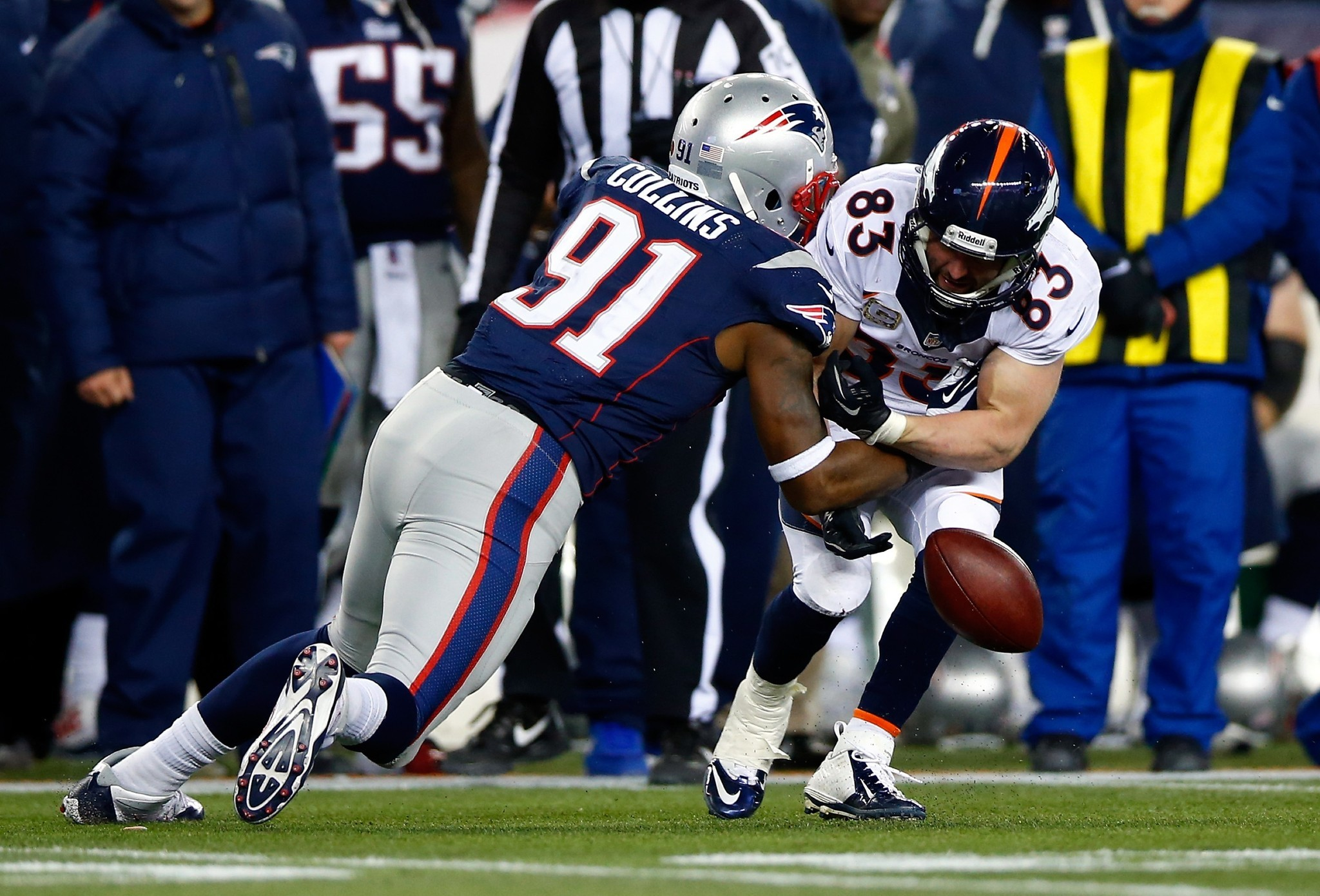 Ravens prepping for Patriots linebacker tandem of Jamie Collins