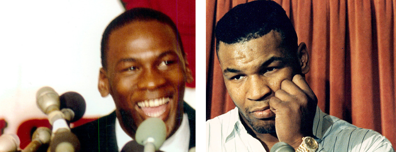 What really happened between Mike Tyson and Michael Jordan?