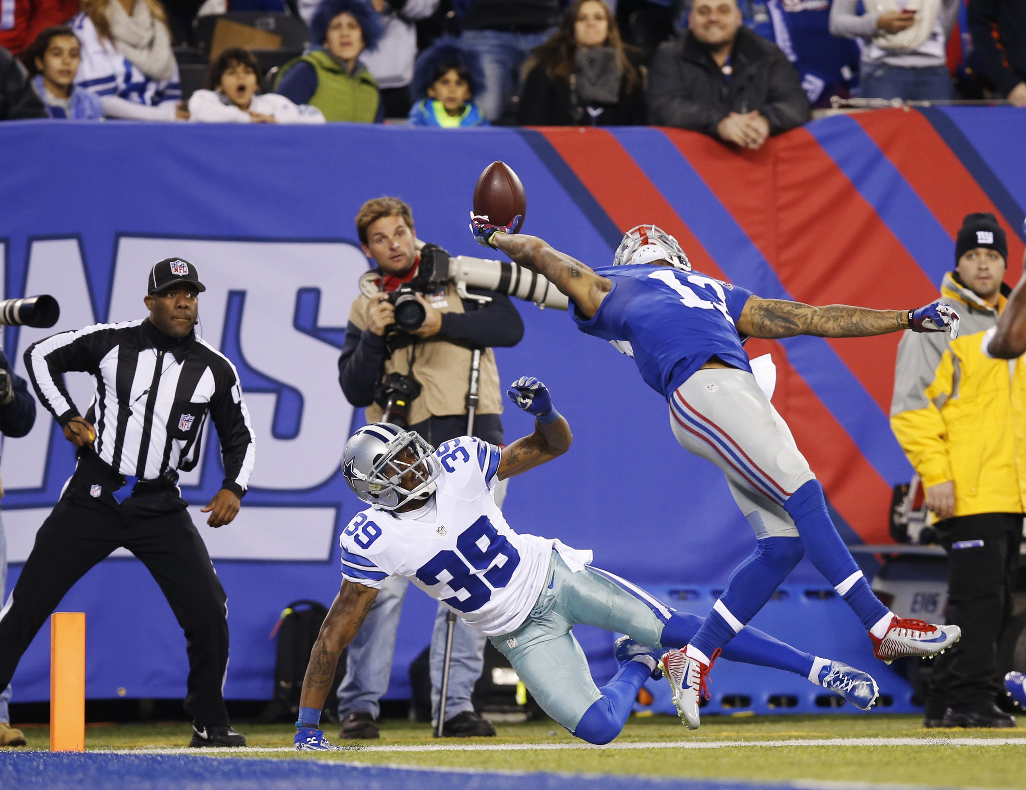 Giants rookie Odell Beckham Jr added to Pro Bowl roster LA Times