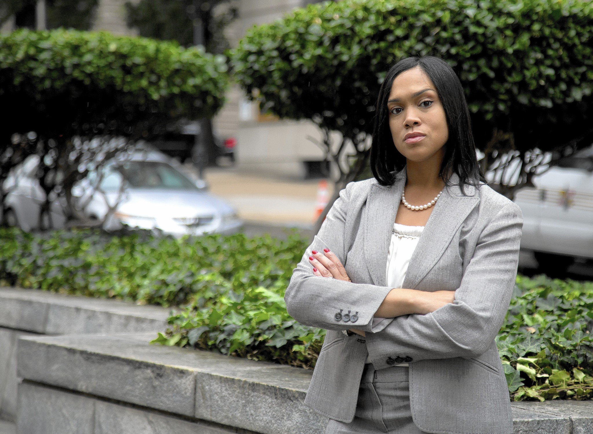 """Police brutality is completely inexcusable. I'm going to apply justice fairly, even to those who wear a badge,"" said Marilyn Mosby, Baltimore state's attorney."