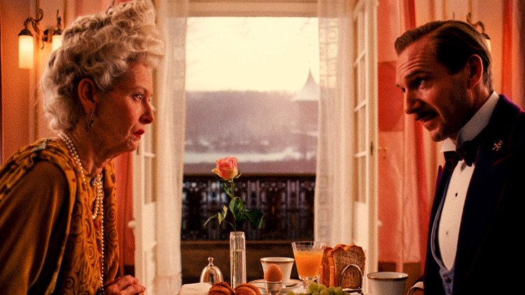 Scene from 'The Grand Budapest Hotel'