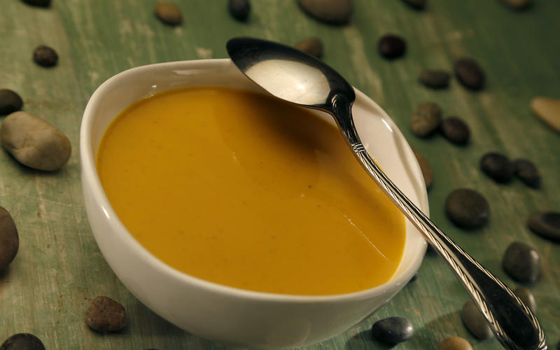 Beverly's Szechwan carrot soup