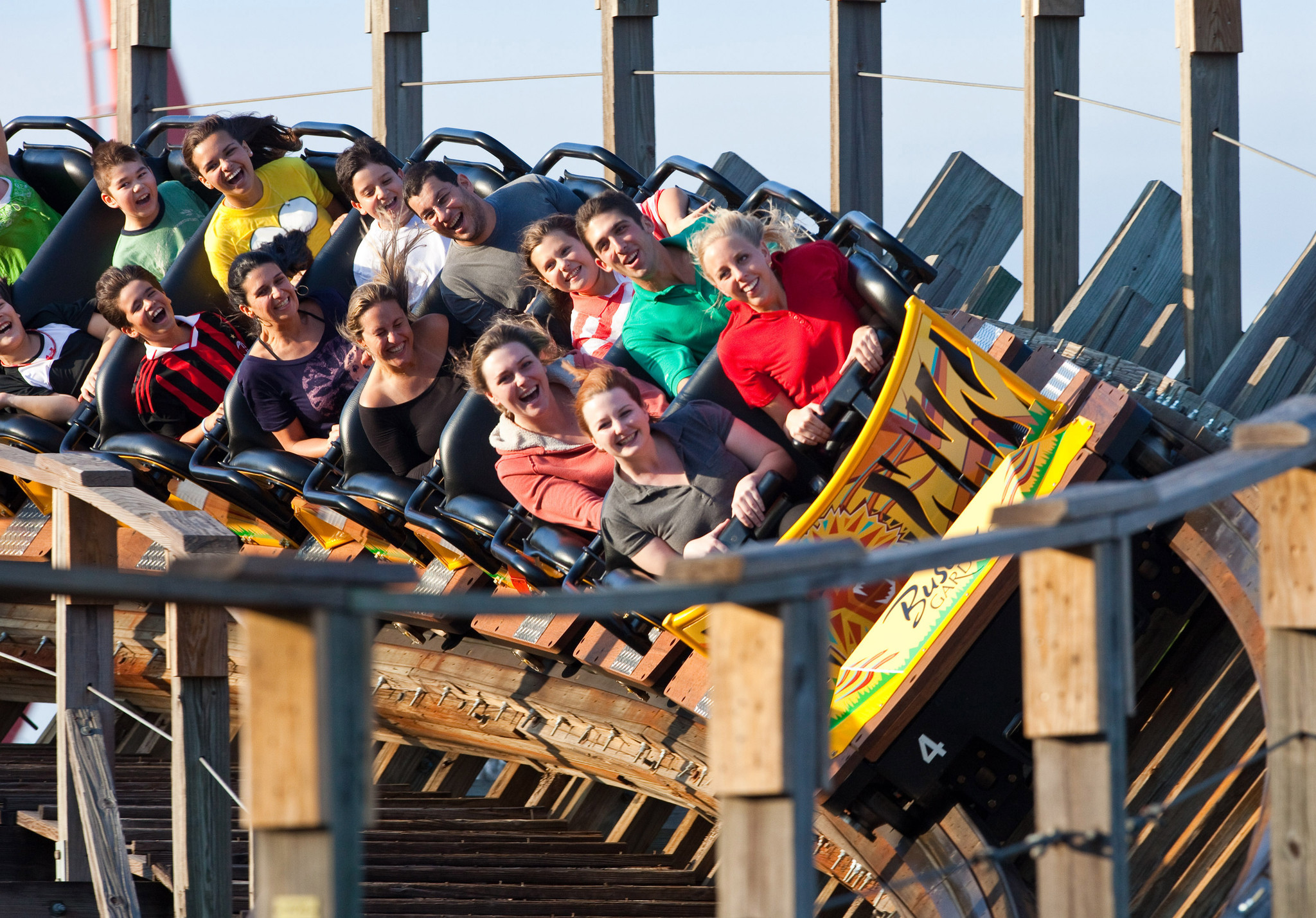Busch Gardens Will Close Gwazi Coaster On Feb 1 Orlando