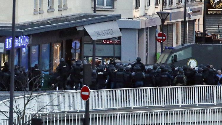 Terrorist attack on French satirical magazine