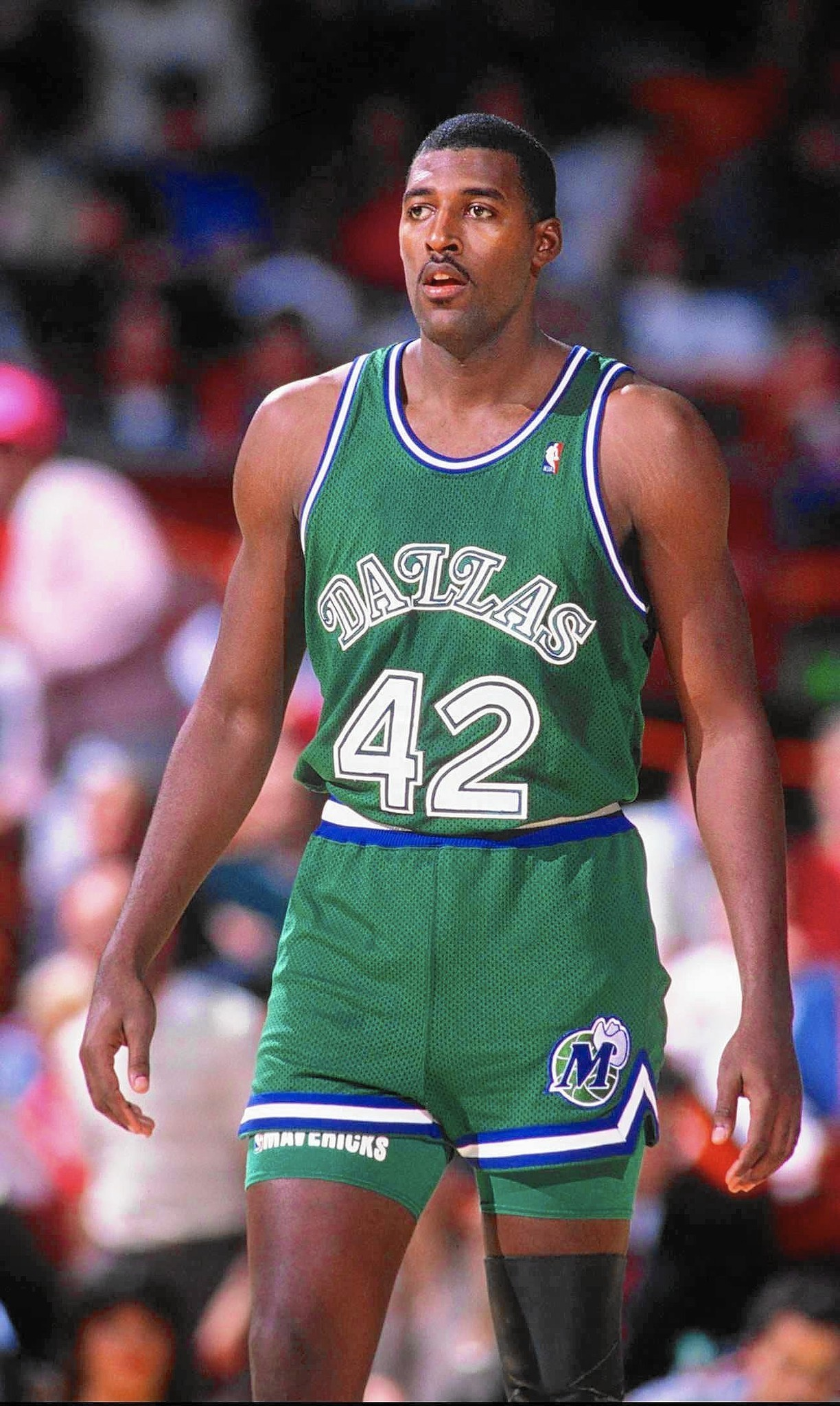 Roy Tarpley s at 50 troubled star center of Dallas Mavericks